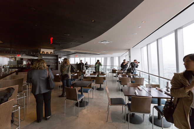Dining At At T Center Of Don 39 T Eat At One World Trade Center 39 S Sky High Restaurants