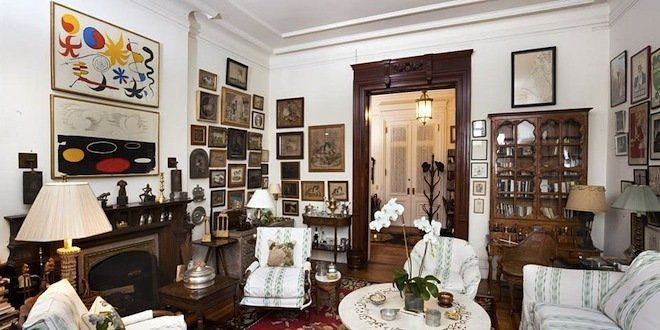 First Look Inside Lauren Bacall S Dakota Apartment Of Years