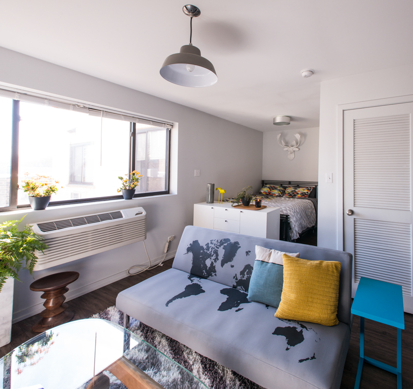 How to Live Large in a 500 Square Foot Studio Apartment - Curbed ...