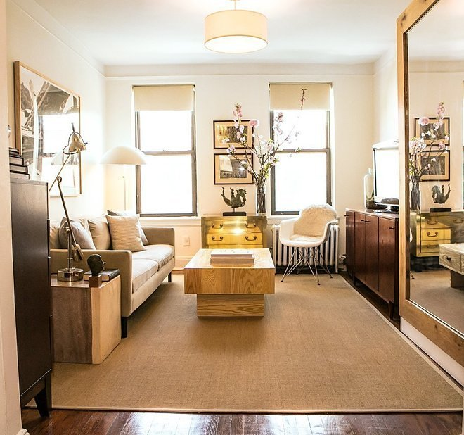 Apartment Therapys Annual Small Cool Pageant Yields This 340 Square Foot New York City Rental Studio With A Murphy Bed And An Eames Chair