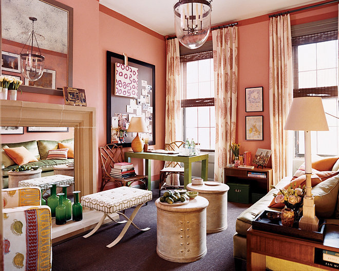 old new york apartments interior. Domino treated one lucky lady to a bedroom apartment makeover by New  York interiors pro Steven Gambrel who used his bag of tricks maximize 24 Small Spaces with Wonderful Maximalist Decorating Curbed
