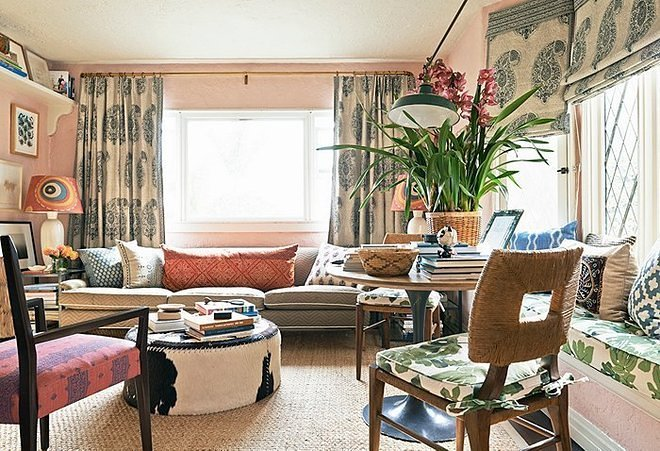 Peter Dunham Helps One Kings Lane Answer Some Pressing Decorating Inquiries Using His 550 Square Feet Los Angeles Home As A Stellar Example Of Big