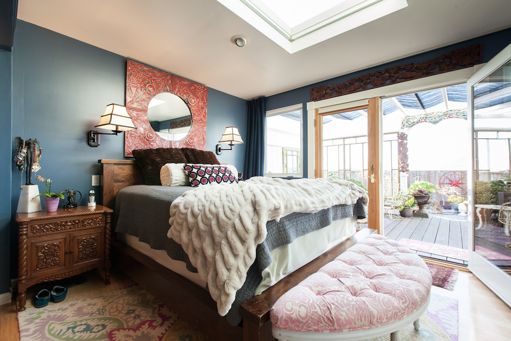 garage bedroom. Excelsior residents Dona Taylor and Bill Hoover turned part of their garage  into a light bathed master suite Photos via Patricia Chang From Garage to Master Suite Reinventing Tiny Row House in the