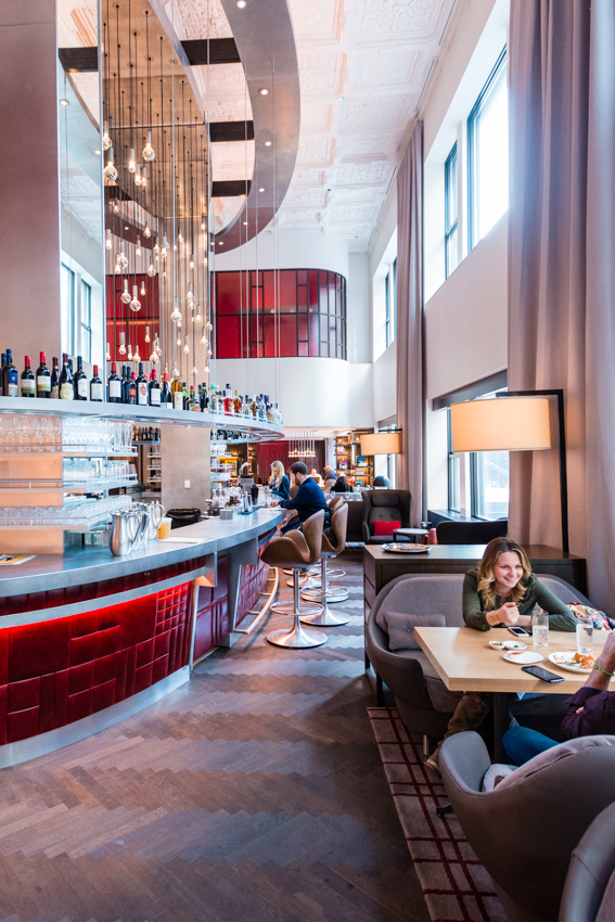 Inside the swanky virgin hotel now open in downtown for Hotel right now in chicago