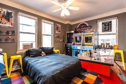 NYC's Arcade Bedroom is What Kids Dream Adulthood to Be