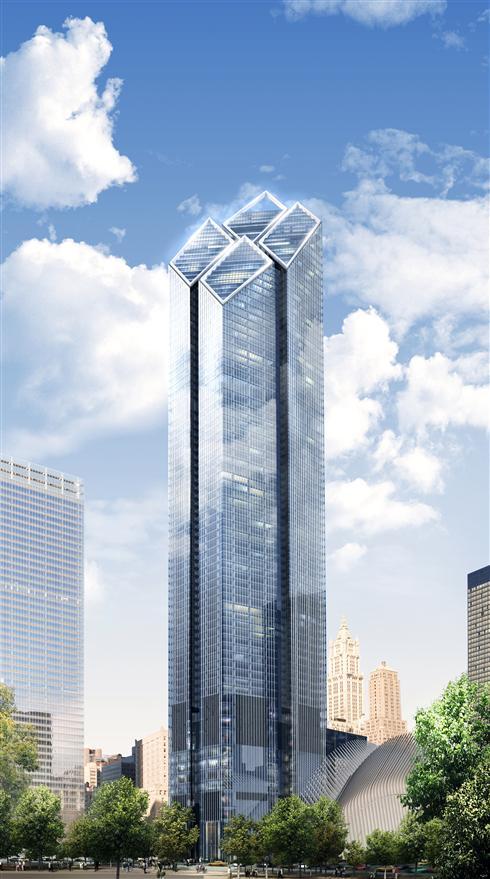 [Rendering Of 2 World Trade Center. Via Silverstein Properties]