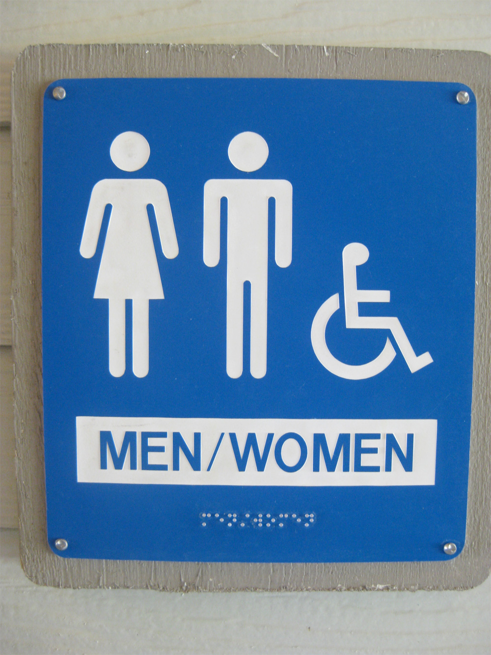Bathroom Sign Language Baby bathroom access for transgender community poses design challenge