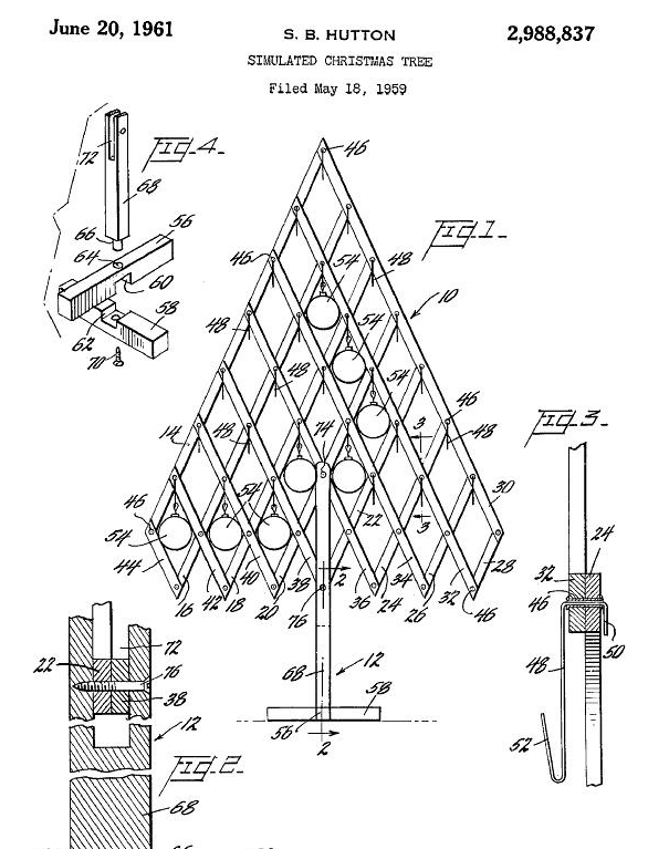 fake funny inventions 11 weird and wonderful christmas tree patents vox