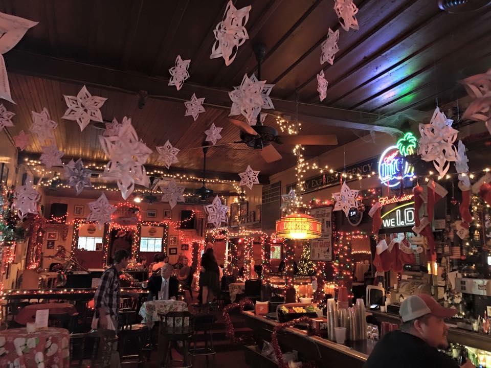 austin restaurants christmas decorations