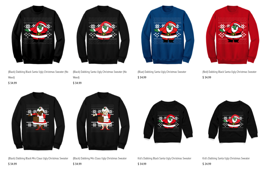 2 Chainz Pulls in $2 Million with Ugly Christmas Sweater Line - Racked