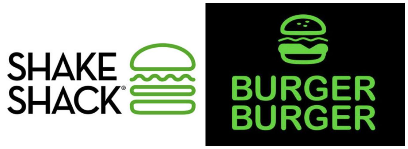 Shake Shack Logo shake shack copycat 'burger burger' lands at the mall of america