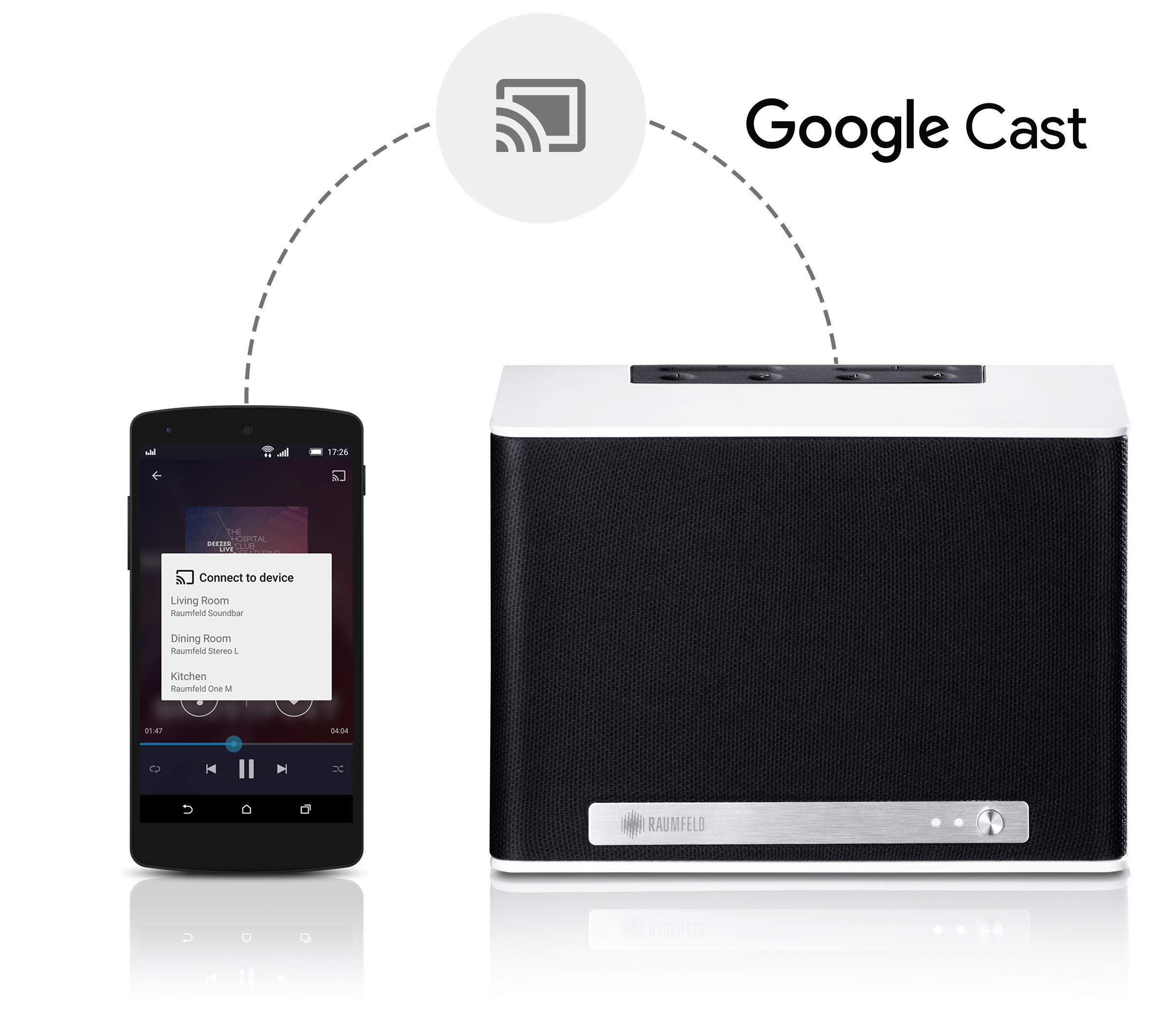 Raumfeld is adding Google Cast and SoundCloud support to ...