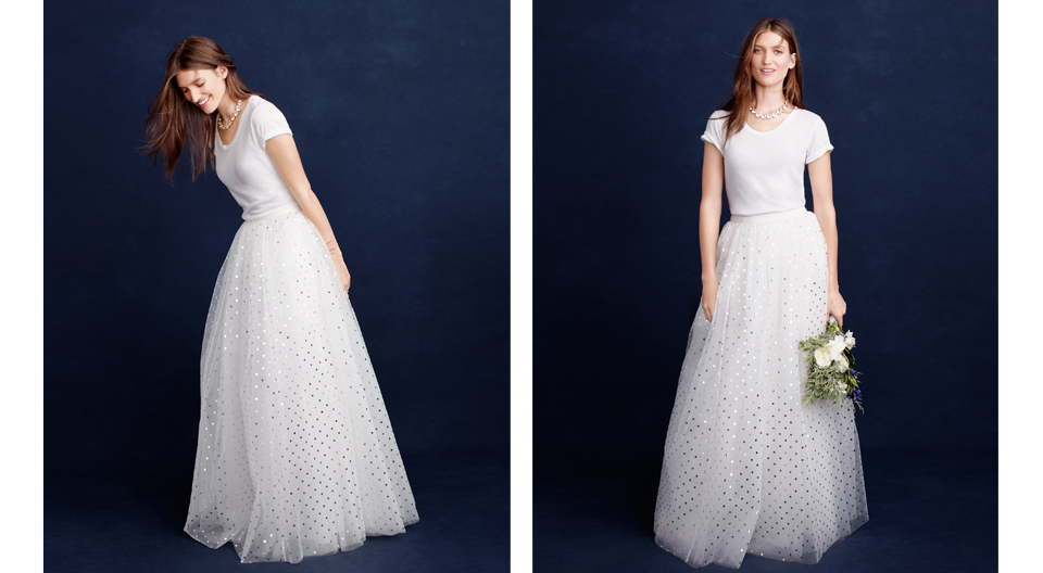 J.Crew\'s Spring Bridal Lookbook Has Tulle Skirts, Jumpsuits, and ...