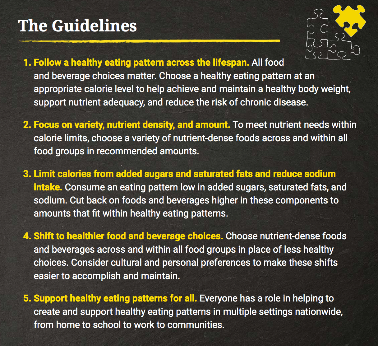 The Us Food Guidelines Are Way Too Complicated There S A Better Way