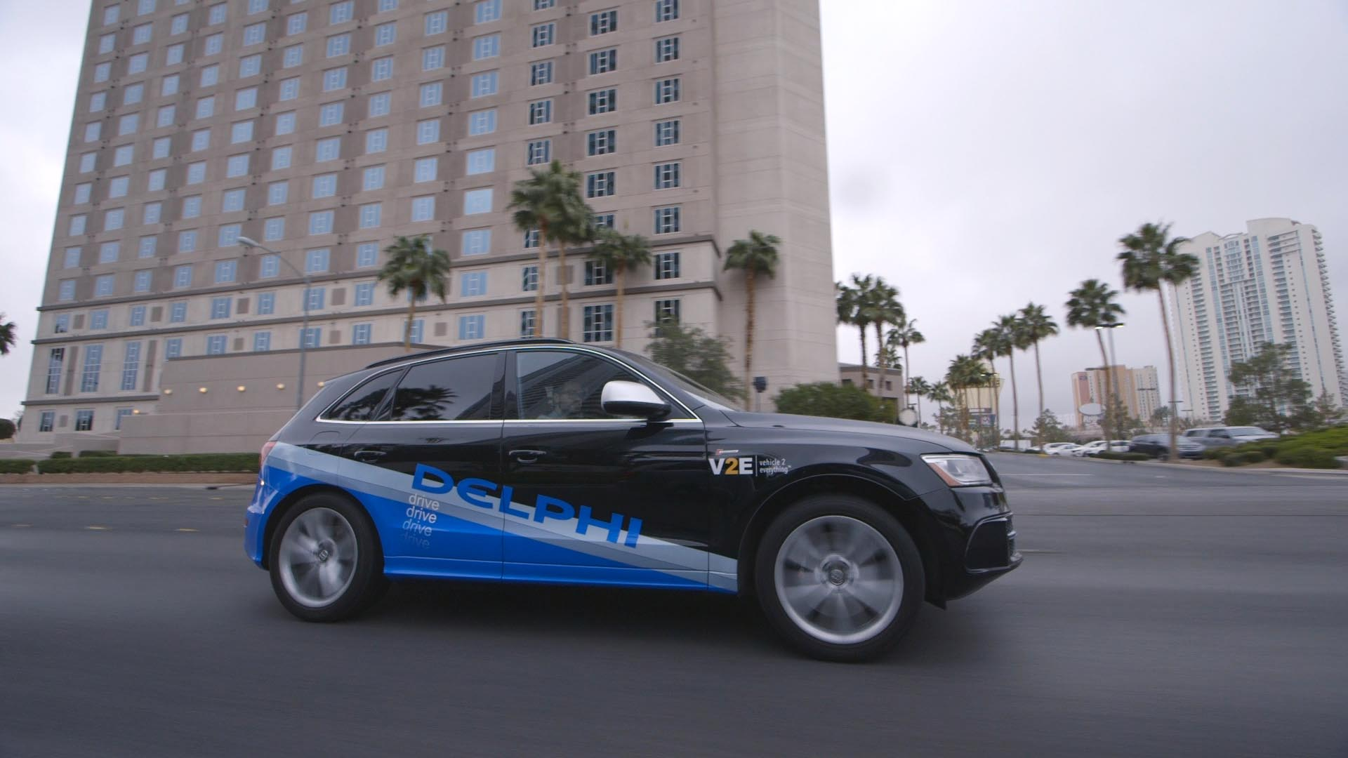 Self-driving vehicle race ramps up as Delphi buys NuTonomy
