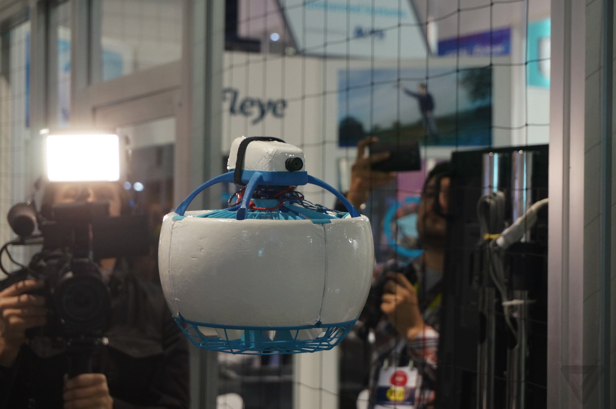 This Soccer Ball Shaped Drone Can T Chop Your Fingers Off