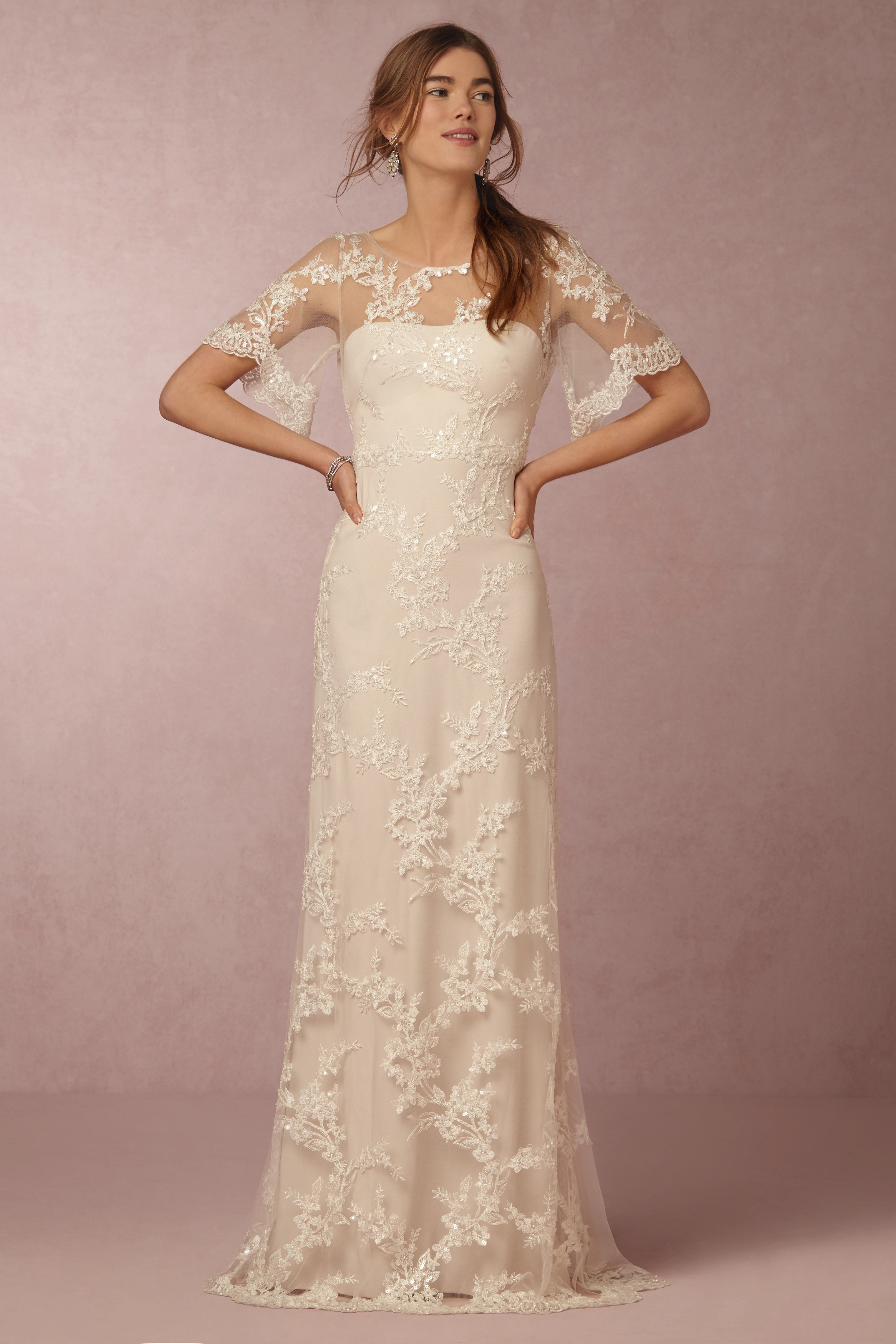 2b906bf7 See Marchesa's First Wedding Dresses for BHLDN - Racked