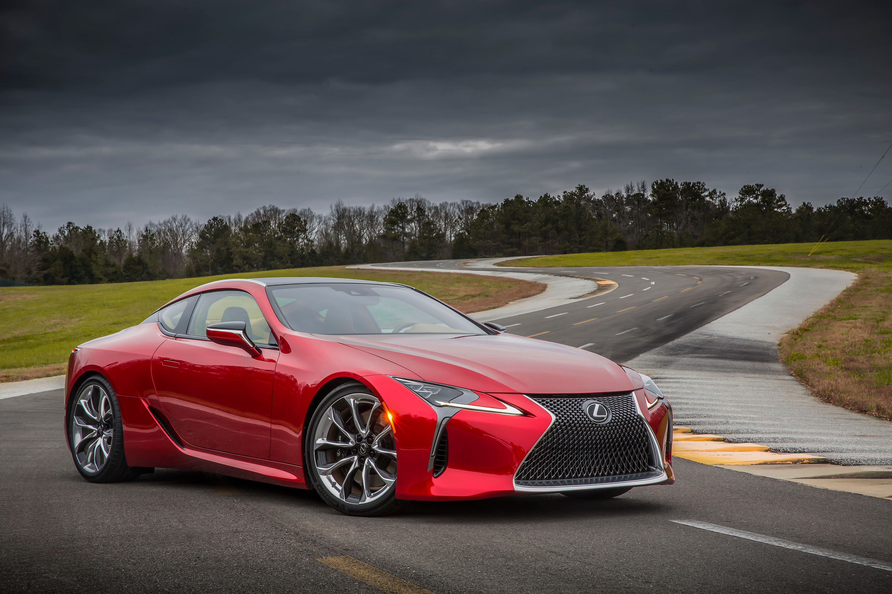 The Lexus Lc 500 Is A Ful Flagship Coupe And It Won T Be Verge