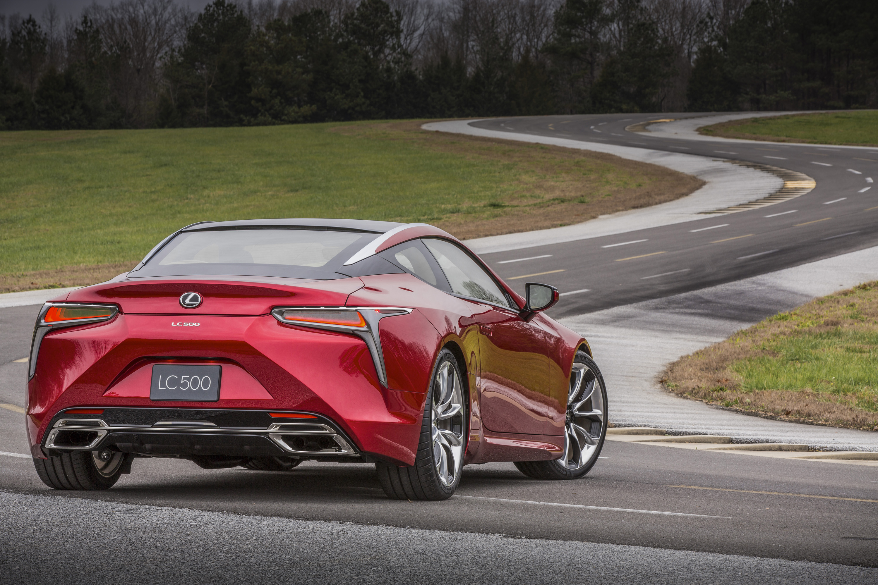 the lexus lc 500 is a big, powerful, flagship coupe — and it won't