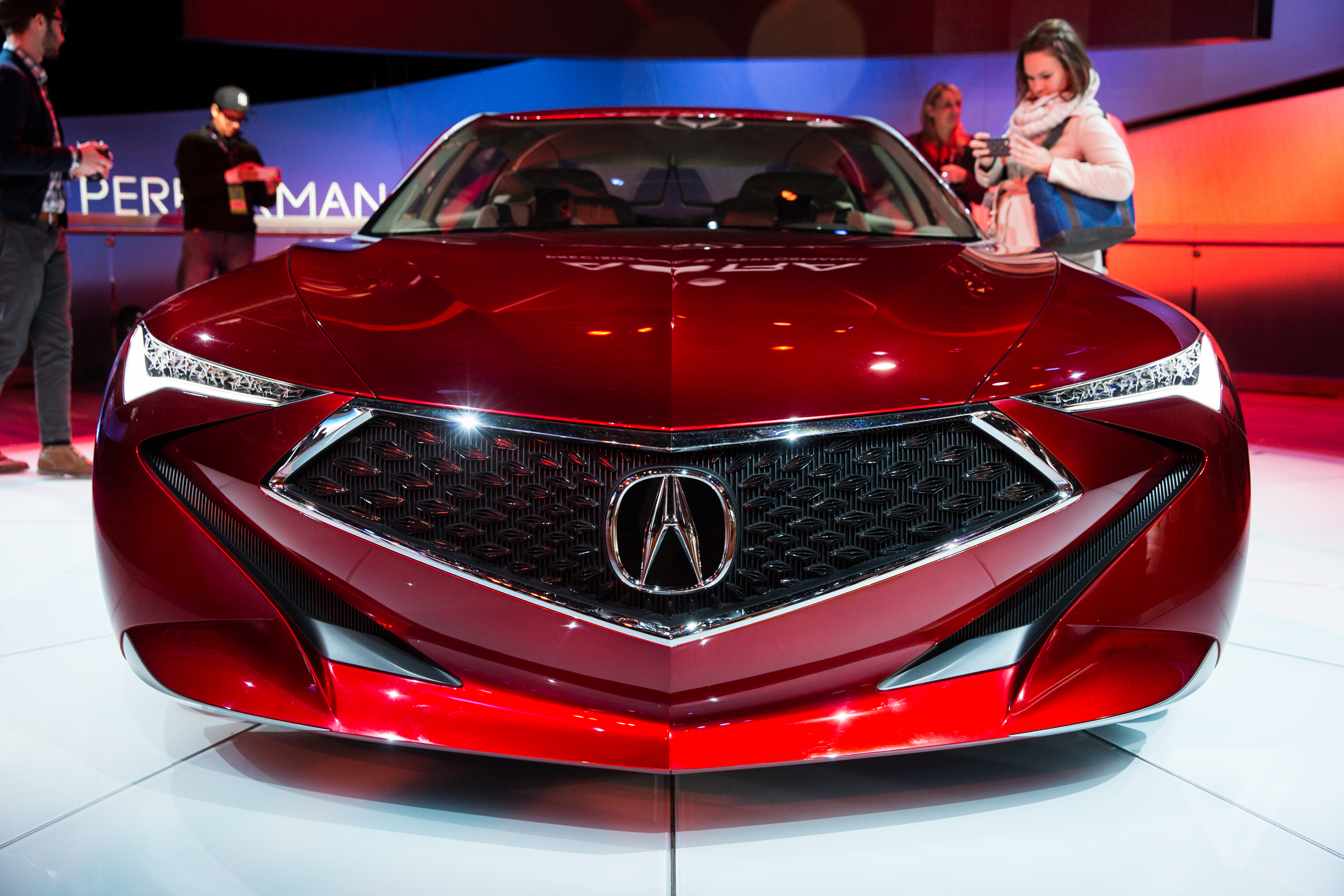 The 2016 Detroit Auto Show In Pictures