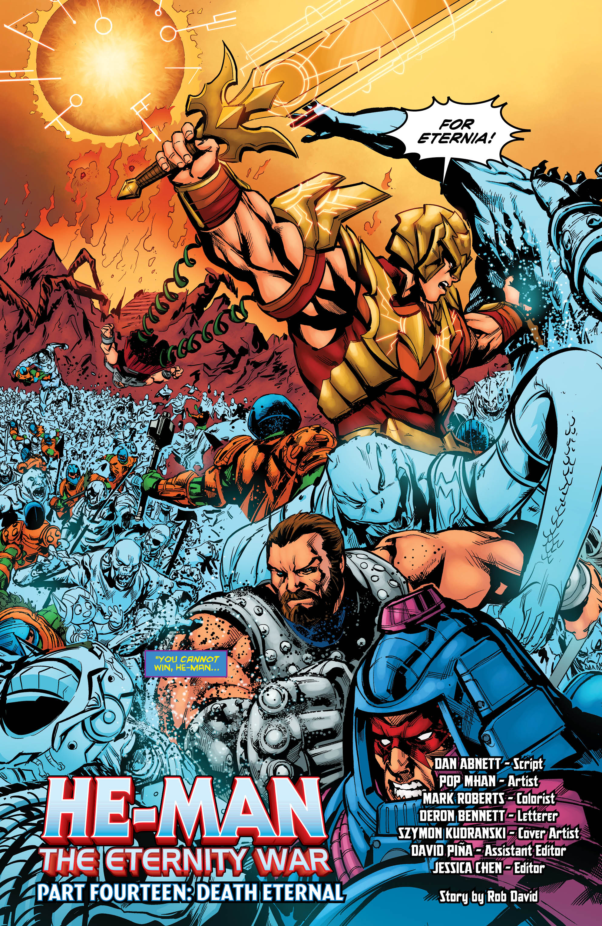 Rob; Abnett I... He-man the Eternity War 1 Pop Dan; Mhan Paperback by David