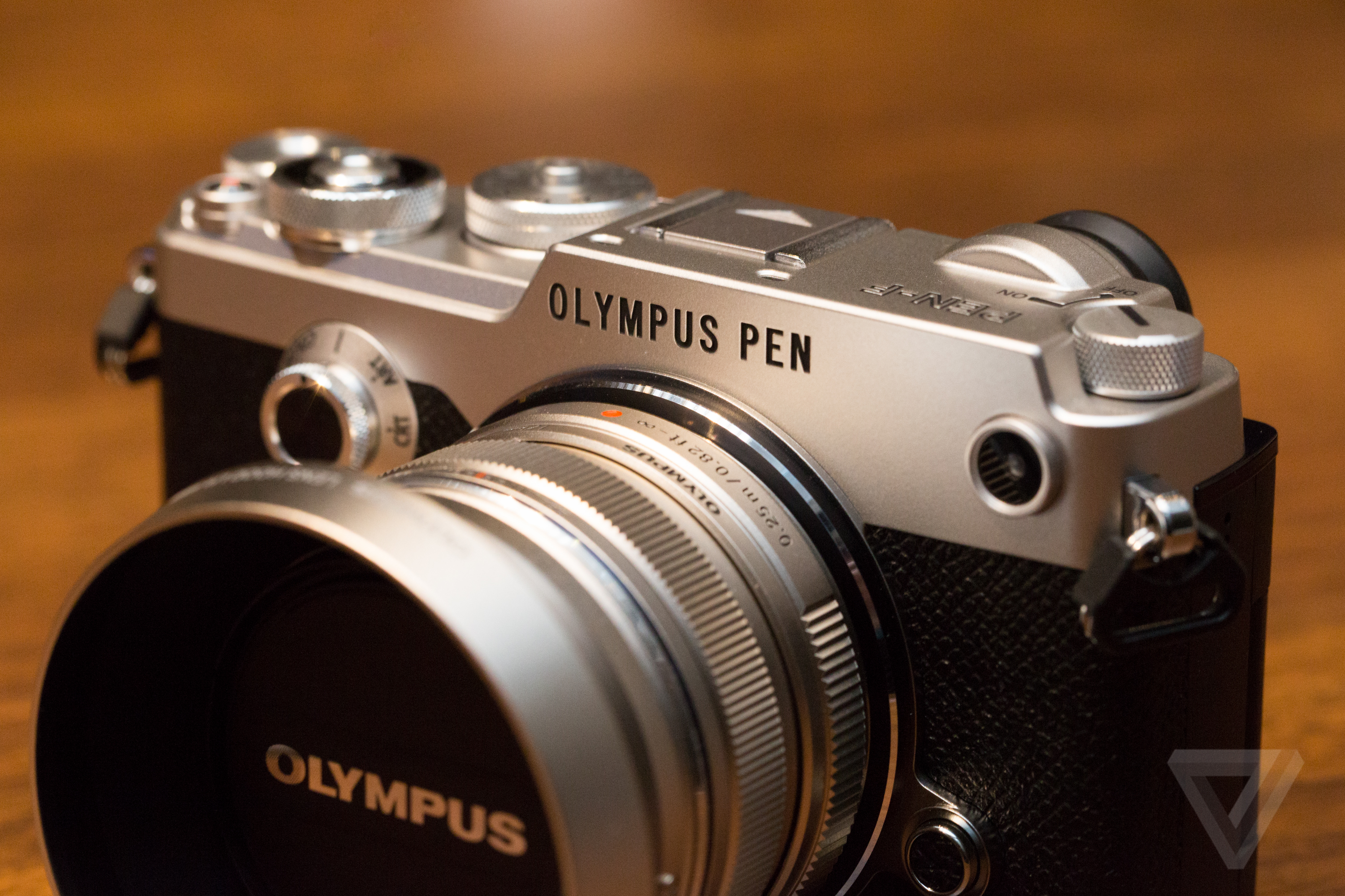 The Olympus Pen F Is A Classic Film Camera With Digital
