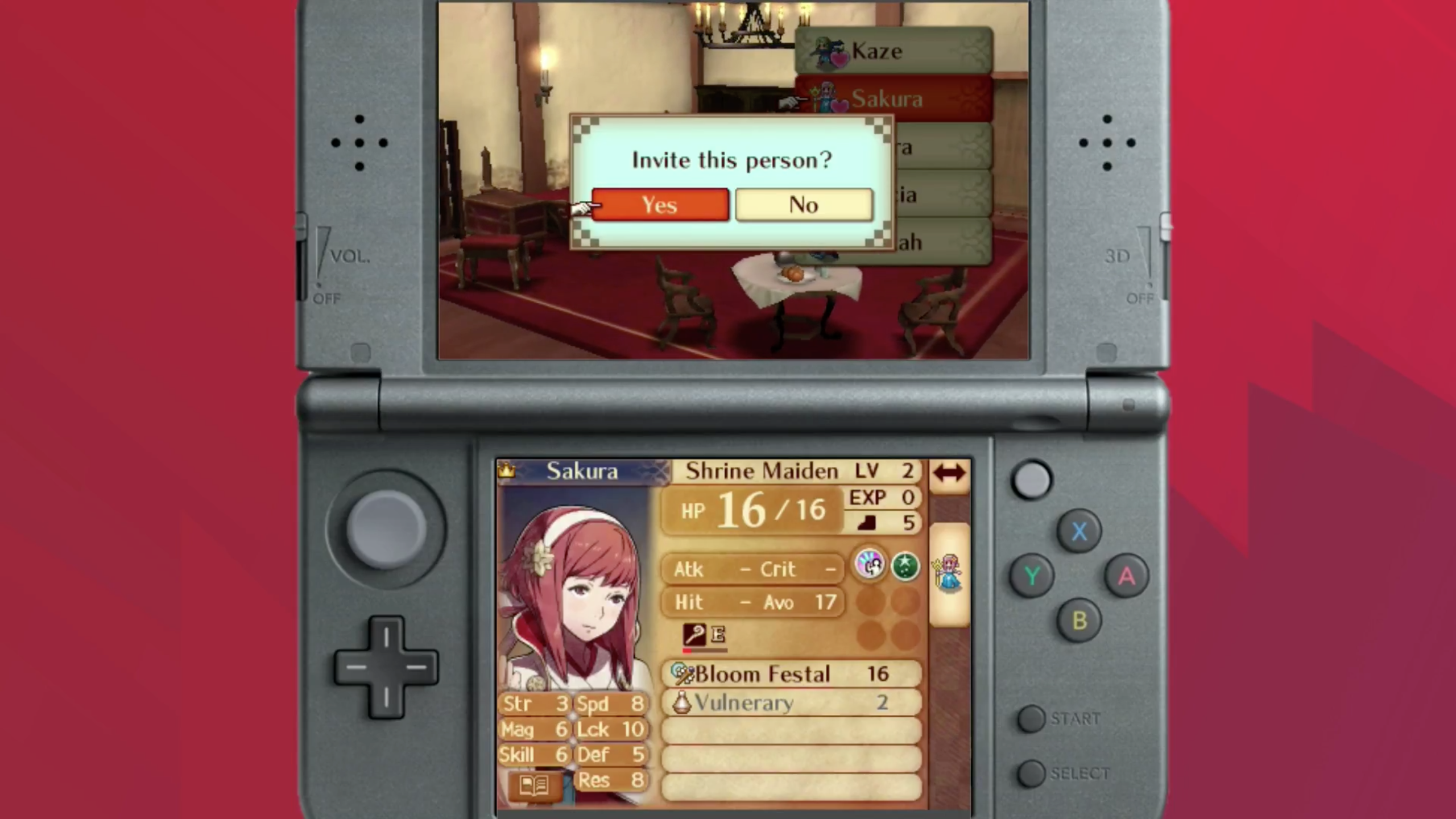 how to change name fire emblem fates