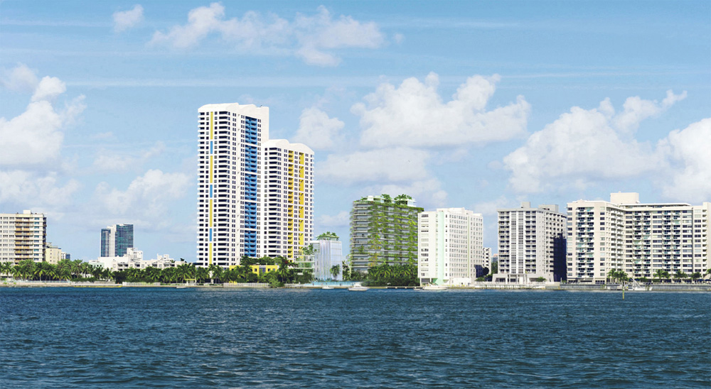 jean nouvelus glassy miami tower will have private lagoon