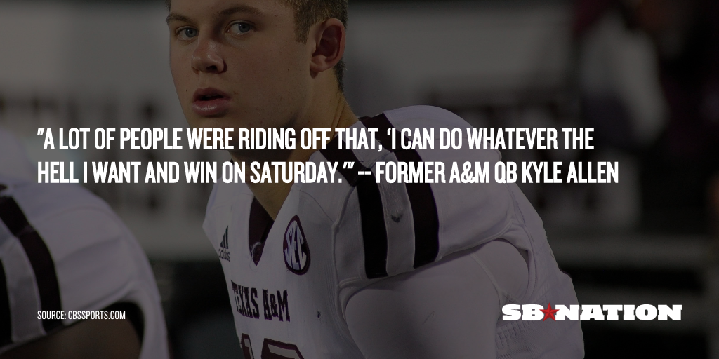 sbnation share__22_.0 texas a&m hc kevin sumlin's style losing out to texas hc charlie