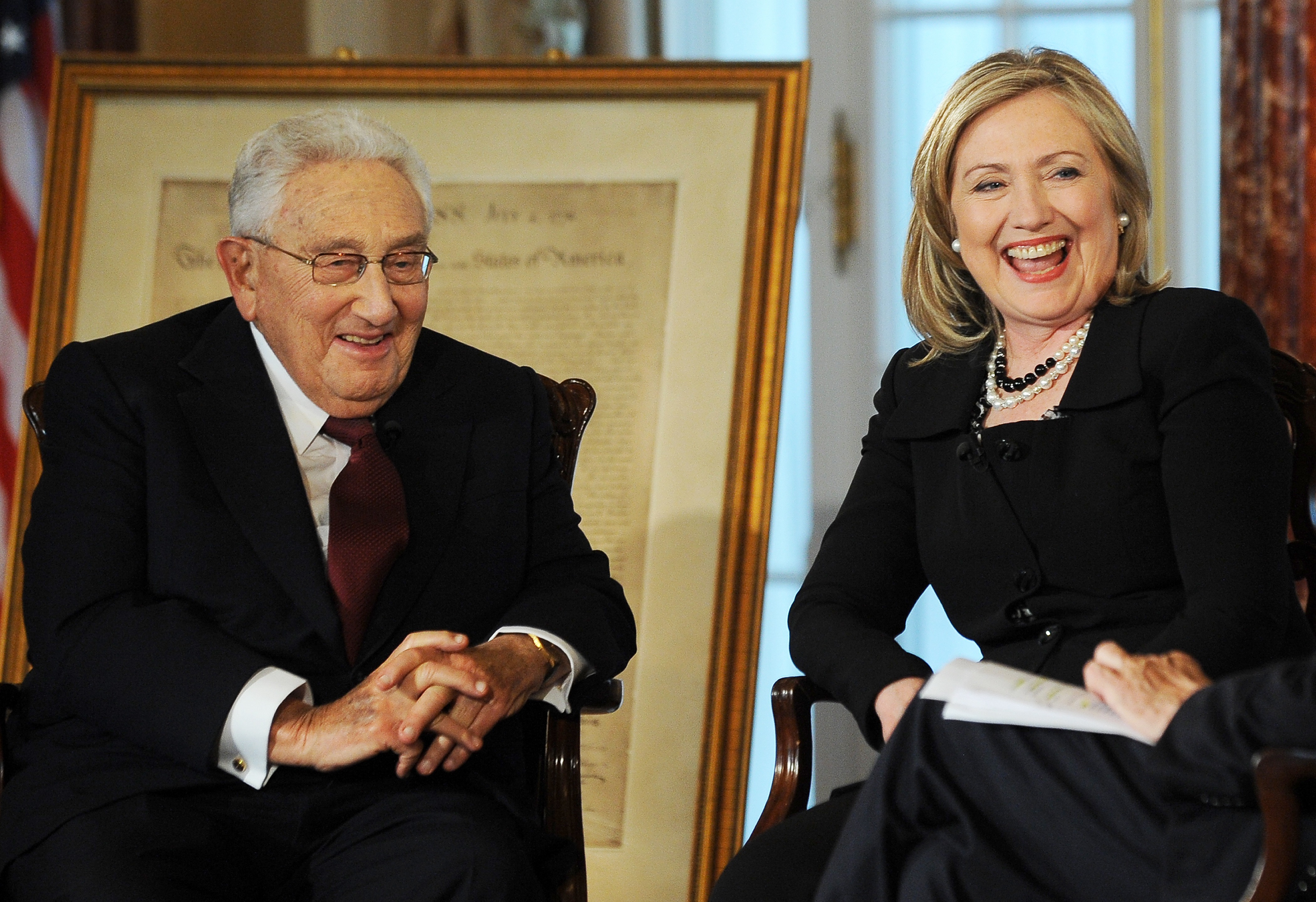the traditional view of kissinger as american hero