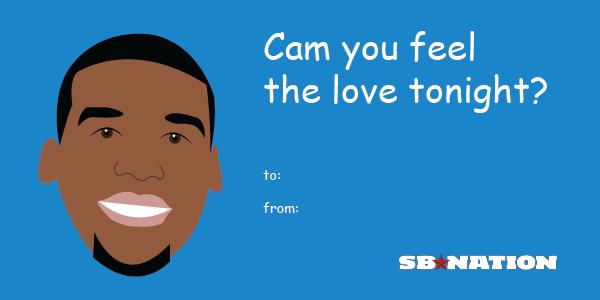 6 Shamelessly Punny Valentineu0027s Day Cards For Sports Fans   SBNation.com
