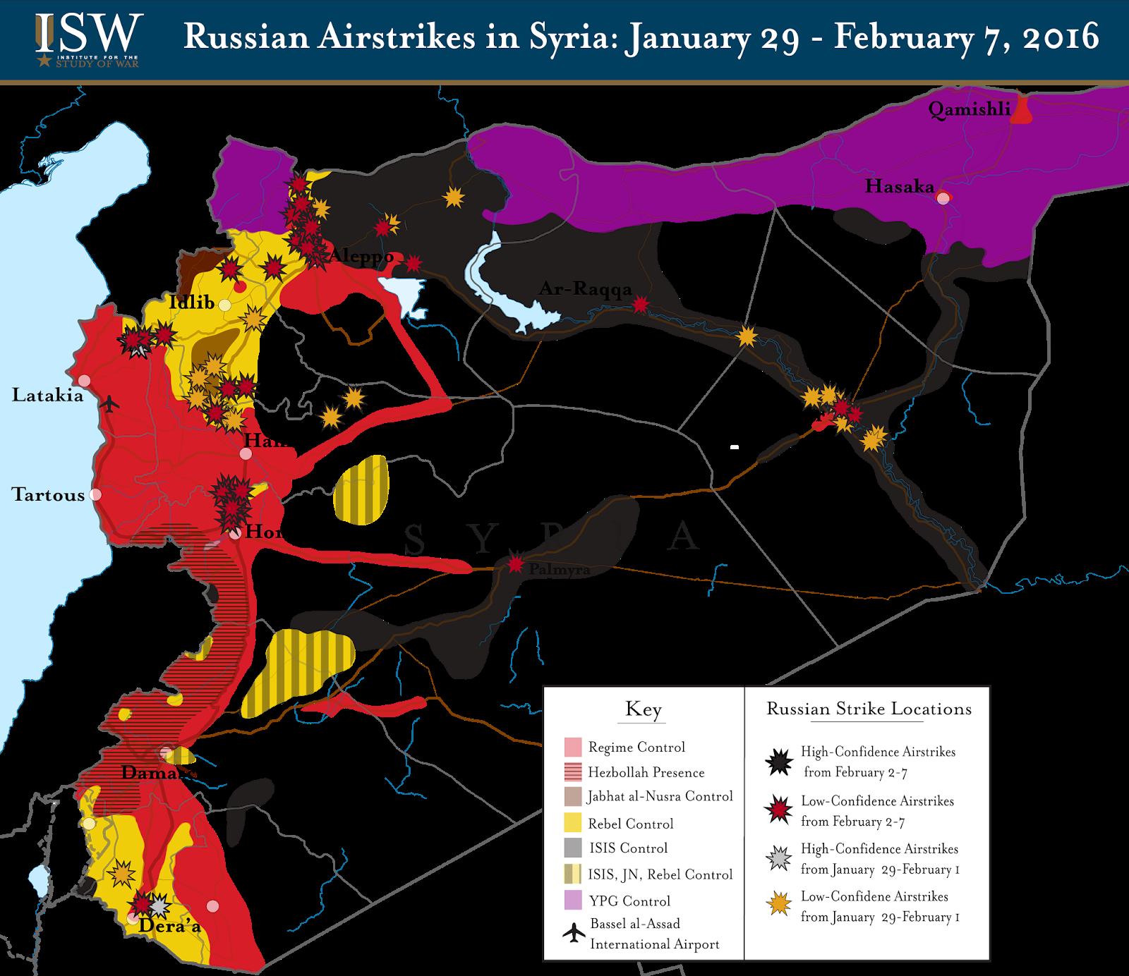Карта боевых действий в сирии русская весна