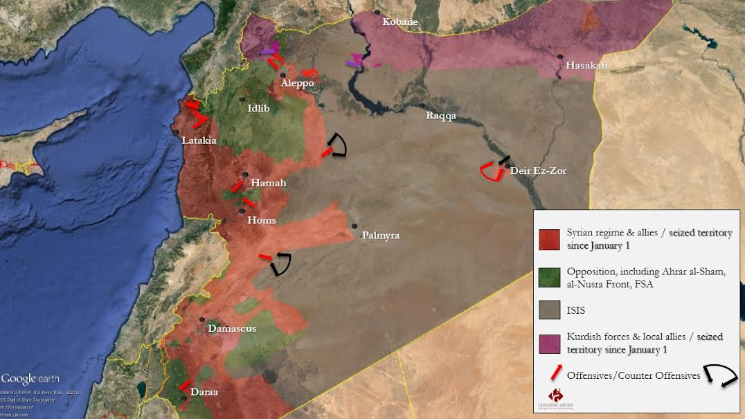 How russian bombing is changing syrias war in 3 maps vox 3 nonetheless syrias war remains a stalemate gumiabroncs Image collections