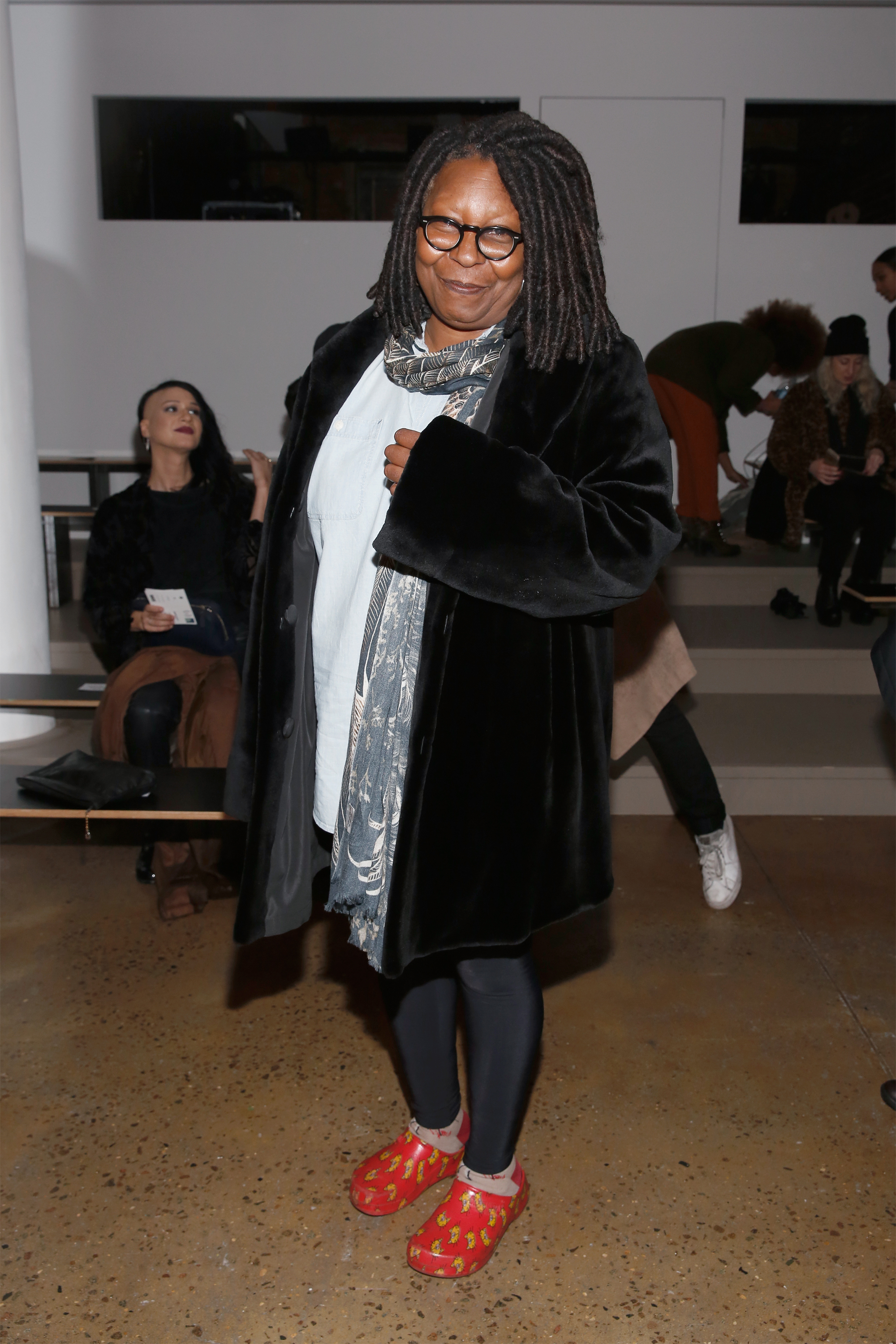 Whoopi Goldberg about glamor: Yes, you look at me Well, how can a star look like that 11