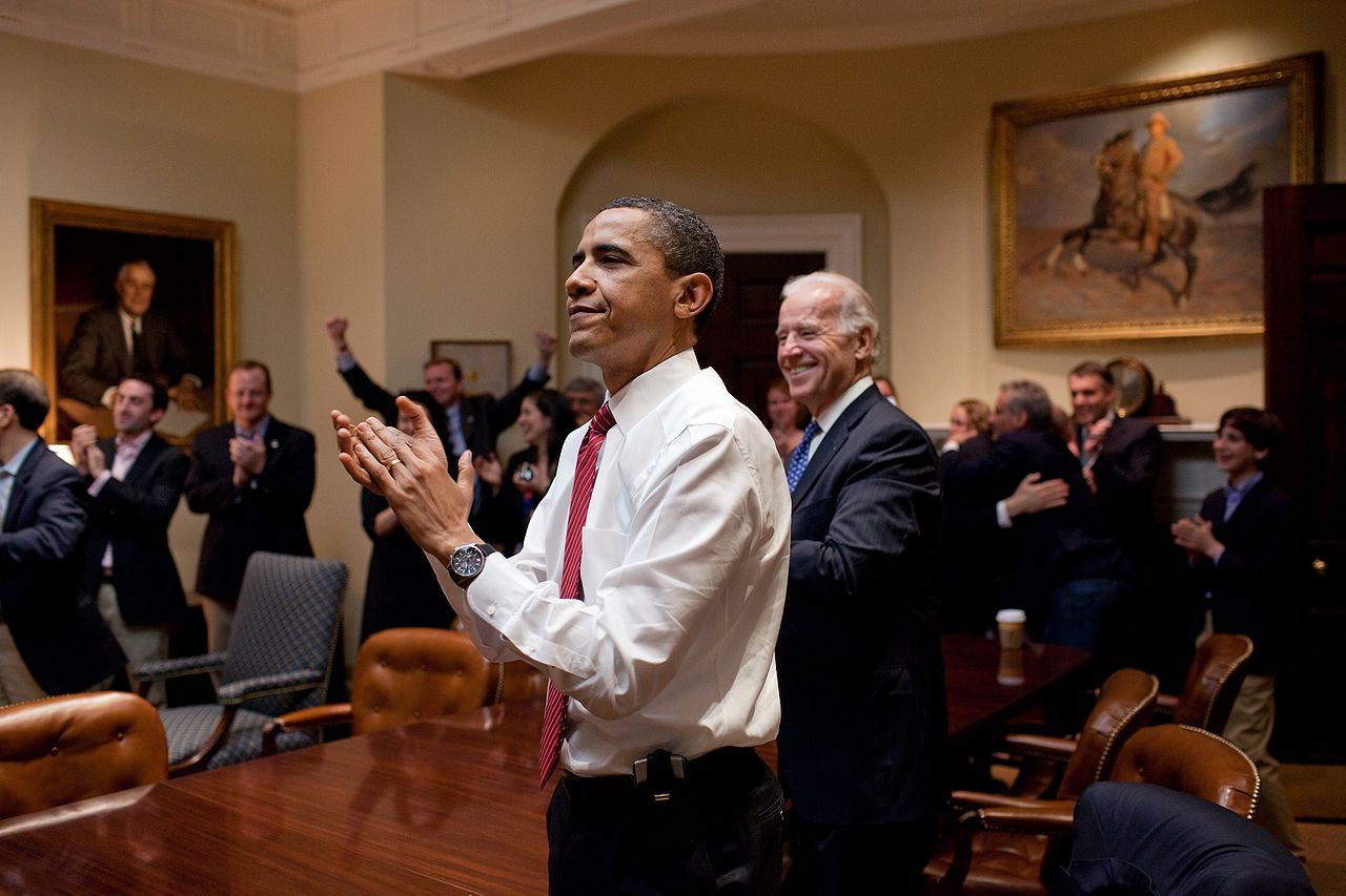 Obama Claps When He Find Out His Universally Beloved Health Care Reform  Solution Has Become Law