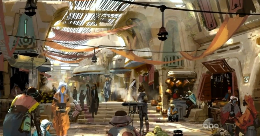 Disney S Star Wars Land Will Include A Mos Eisley