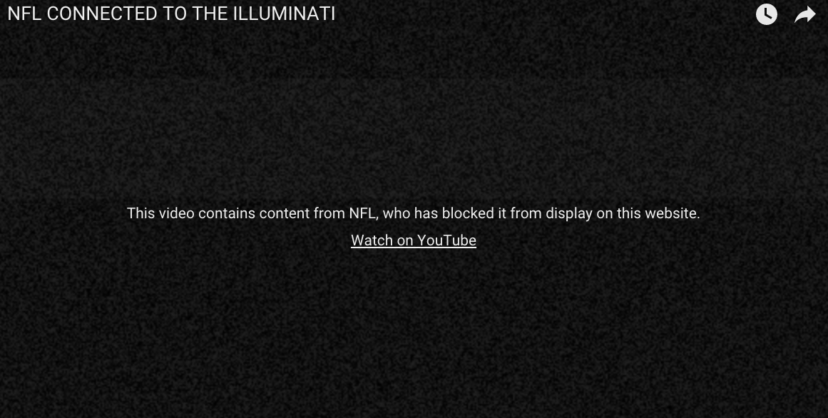 The NFL doesn't want you to see this evidence the Raiders' bad defense is controlled by the Illuminati