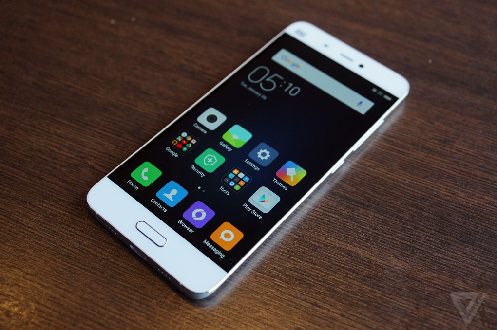 First look at Xiaomi's Mi 5 flagship - The Verge