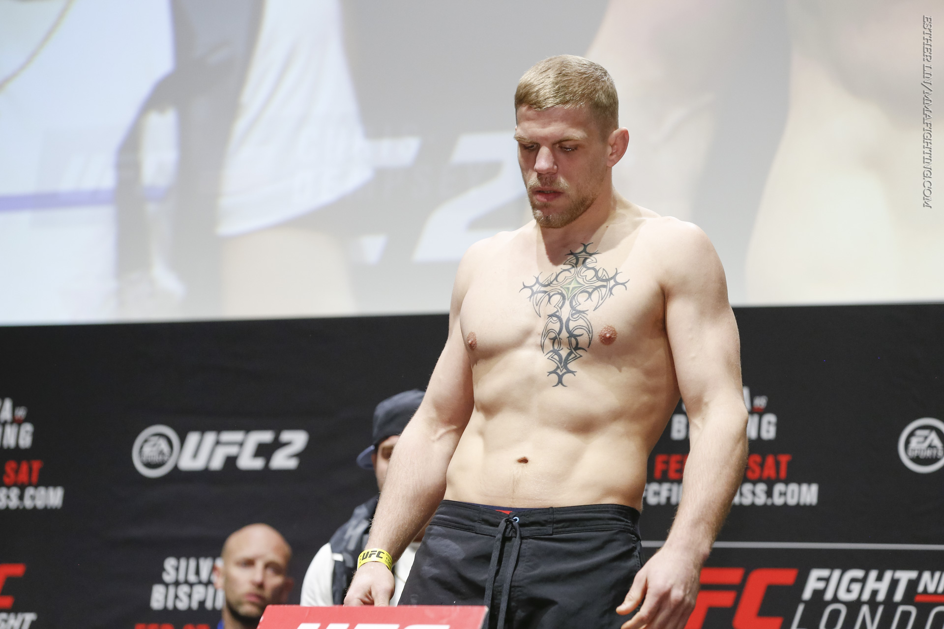 UFC Fight Night 84 London weigh-in photos - MMA Fighting