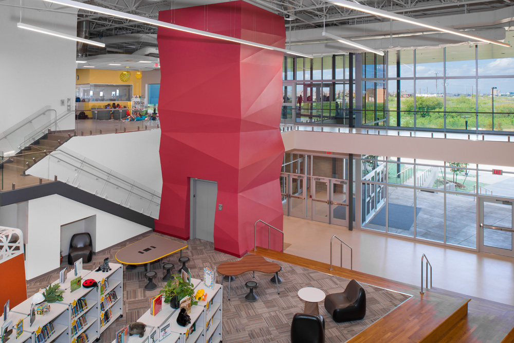 How A Texas Elementary School Came To Look Like Tech Hub