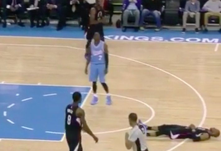 Chris Paul's 3-point play came with a set of broken ankles