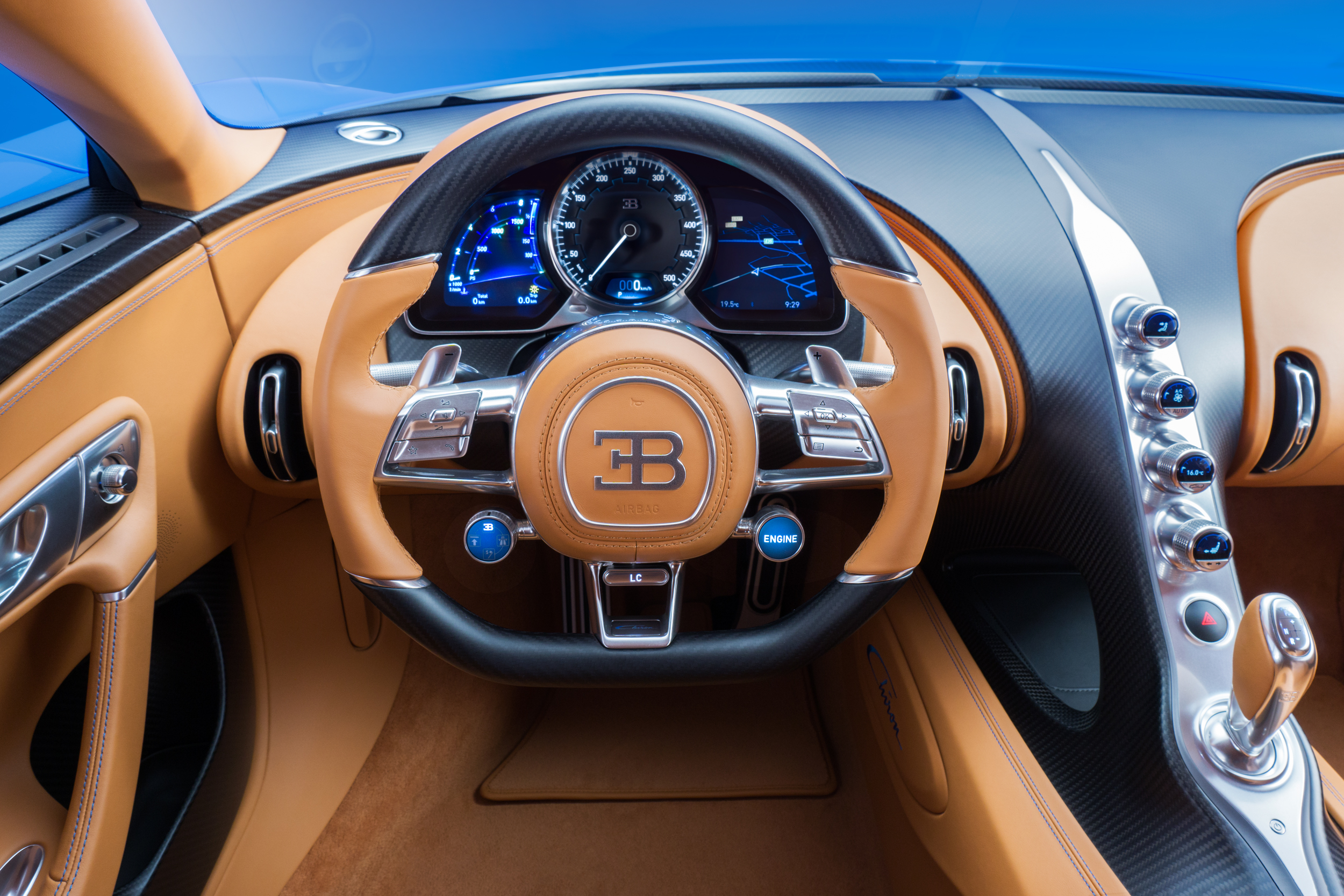 Bugatti chiron specifications
