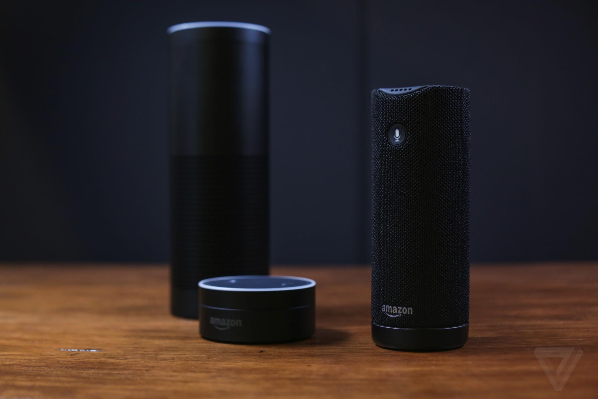 Alexa Bluetooth Speaker >> Amazon Tap Puts Alexa Into A Portable Bluetooth Speaker The Verge