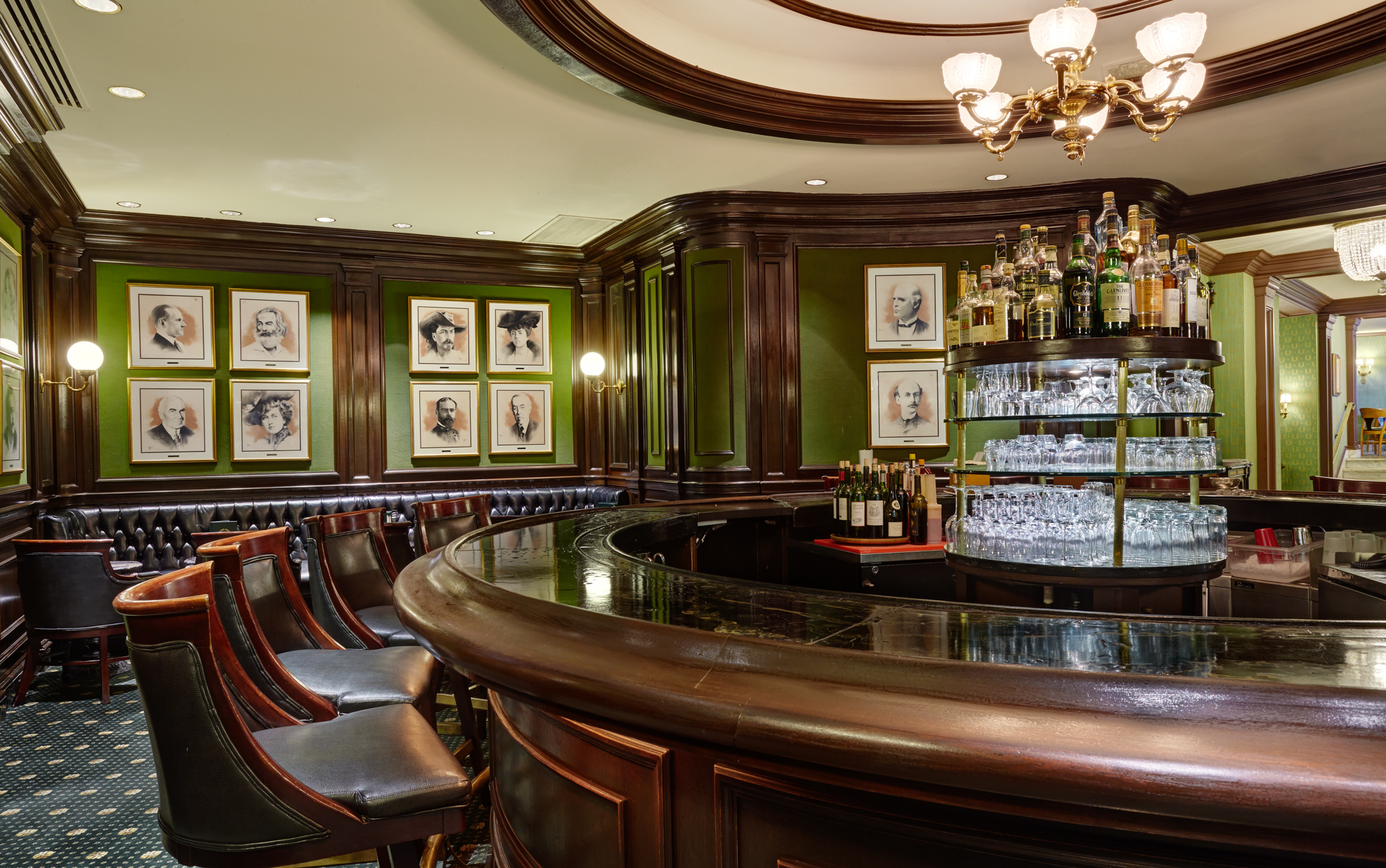 The tiny awesome scotch bar at willard hotel is