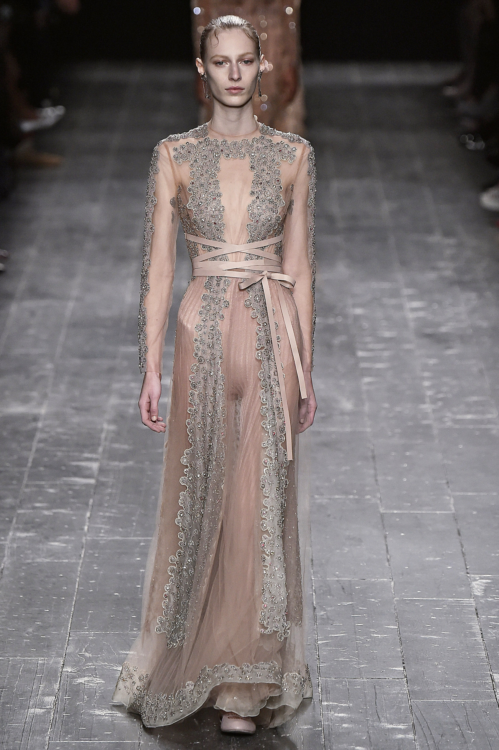 valentino brings the ballet to the runway