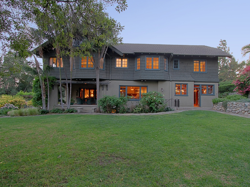 Pristine california craftsman with lap pool asks 5 5m for Craftsman homes for sale in california