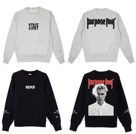 802cf4e33 Justin Bieber's 'Purpose' Tour Merch Is Clearly Inspired by ...