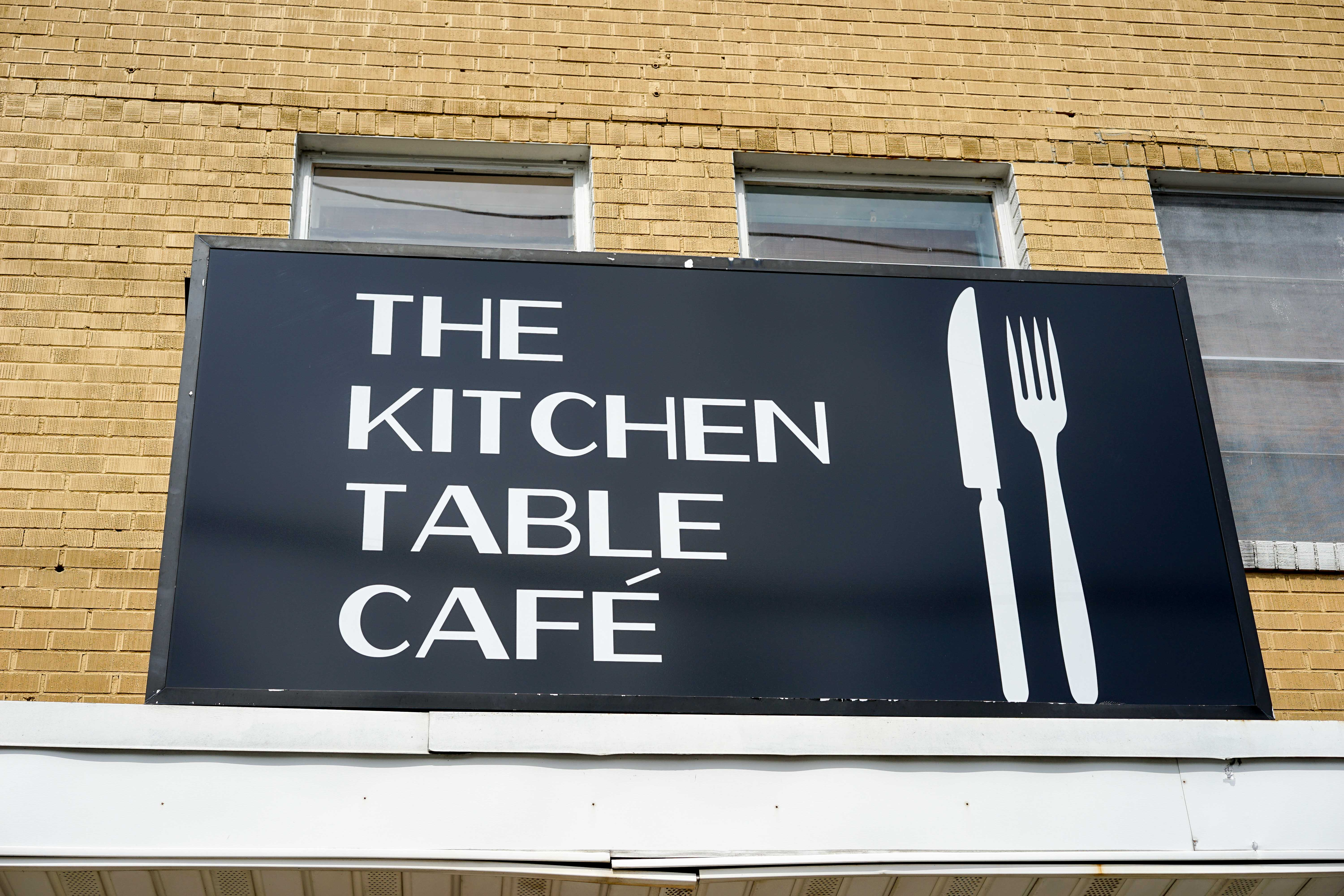 Chef and owner kevin hackett kitchen table cafe