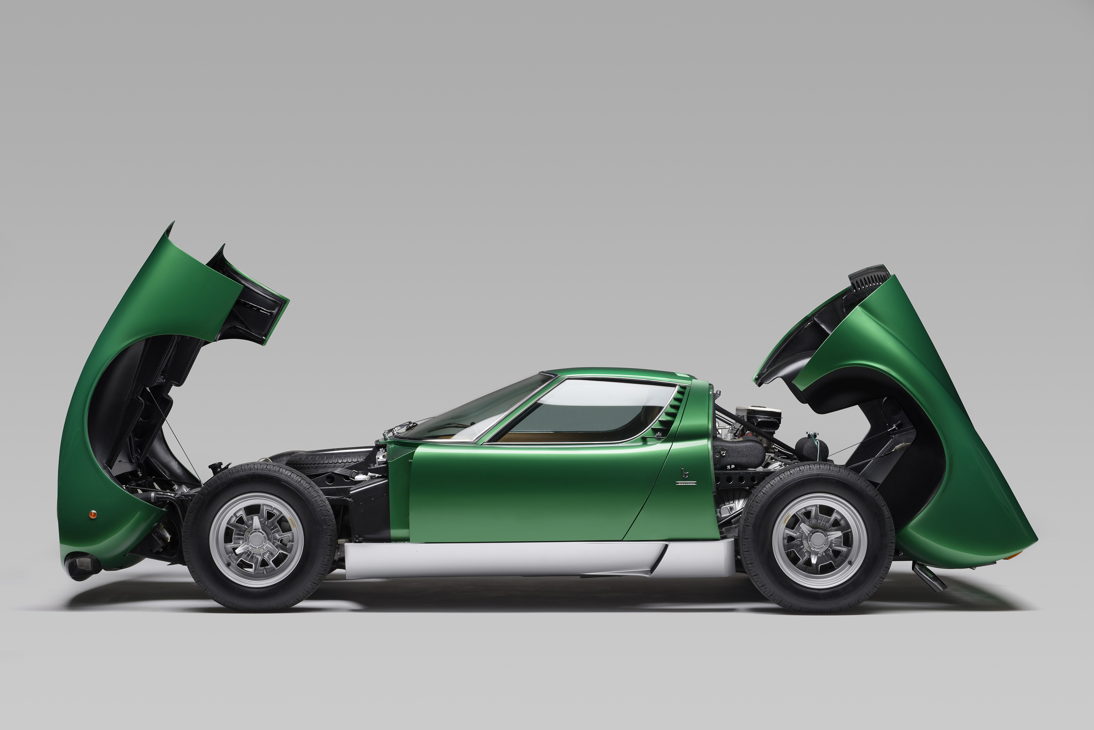 Lamborghini Completely Restored The First Miura Sv For The Car S