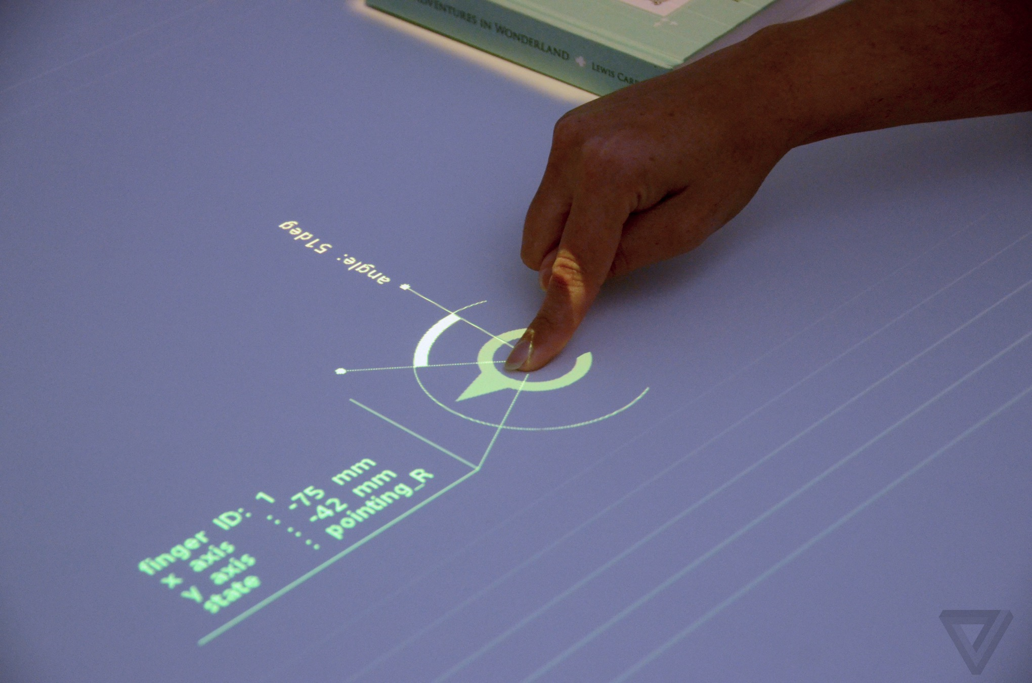 Sony's prototype projector turns any tabletop into a touch-sensitive display